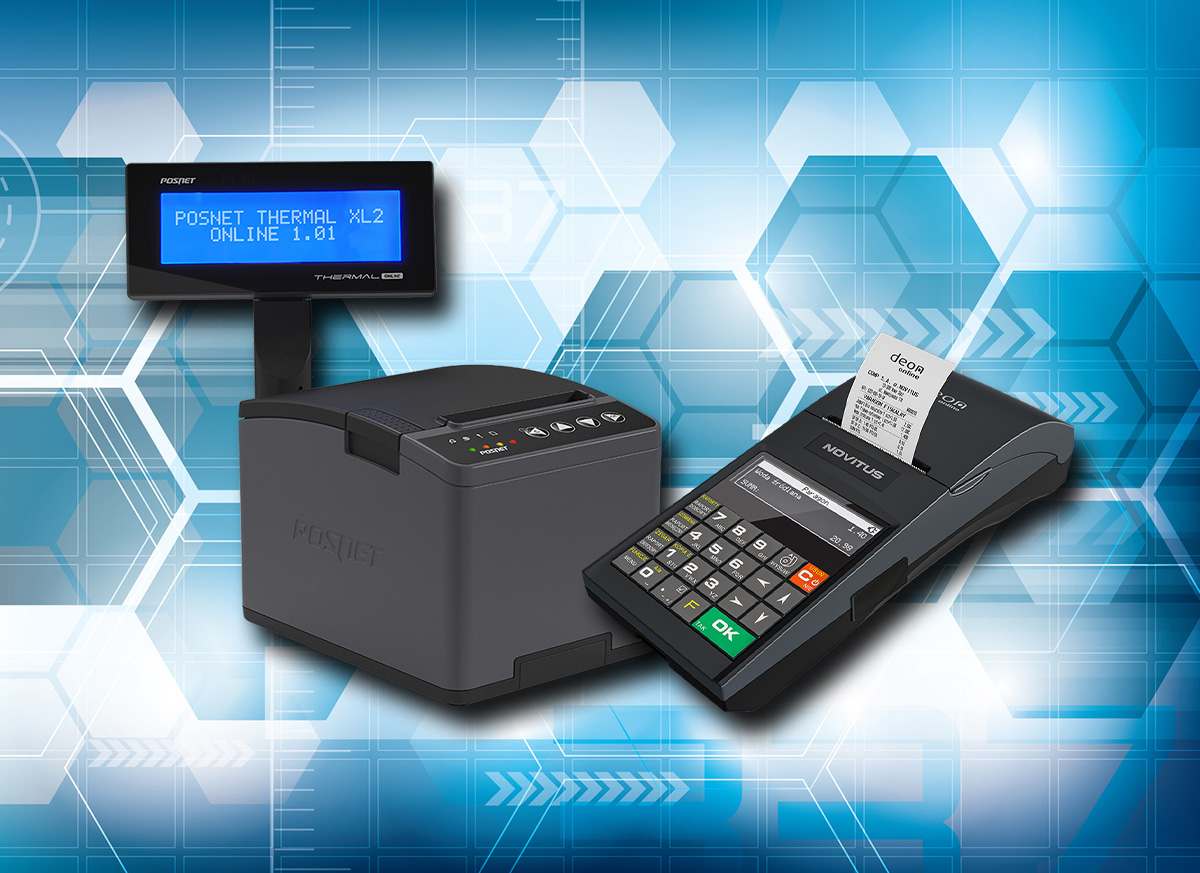 Mobilne i stacjonarne drukarki fiskalne online