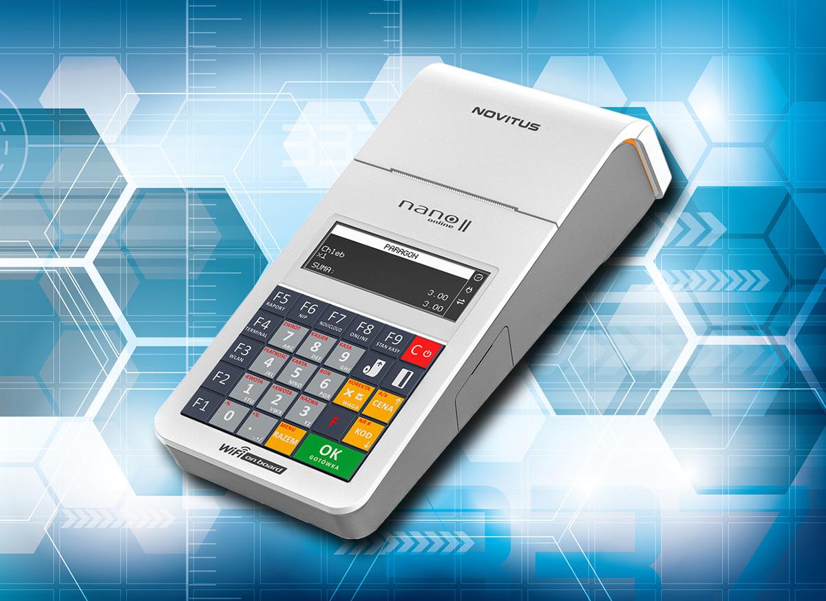 Nano II Online - kasa fiskalna Novitus