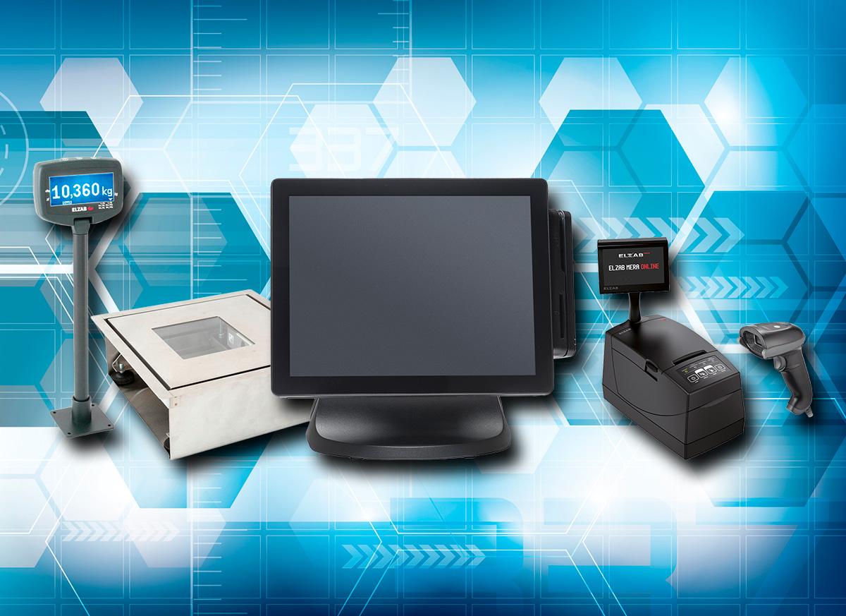 Urządzenia podłączone do komputera POS